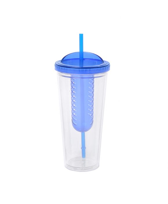 22 OZ double wall cup with special lid C223B