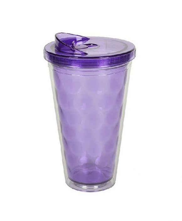 double wall tumbler with special lid ld-c203