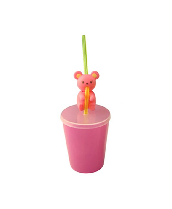 drinking cup with straw for 120ml ld-c118