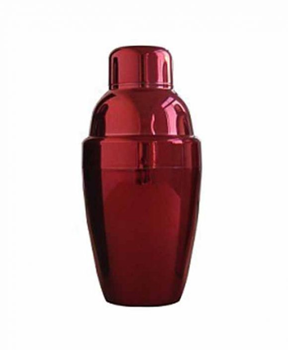 plastic cocktail shaker ld-k630 ( chrome plated)