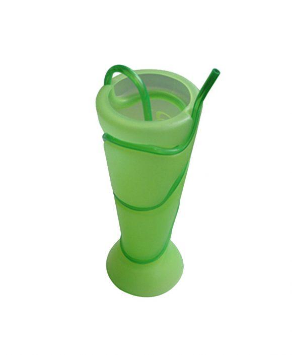 plastic drink swirly straw cups ld-c111
